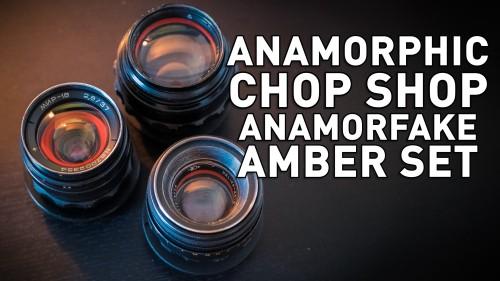 Anamorphic Chop Shop - Anamorfake Amber Set (37/58/85)
