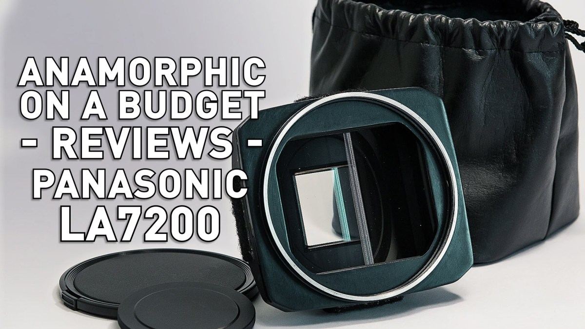 Buying Your First Anamorphic Lens