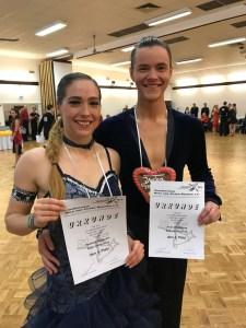 Nathalie und Arian - Freimarktsturnier 2017