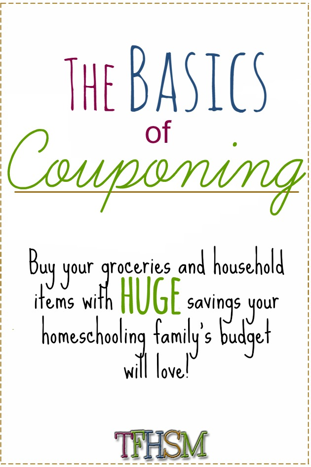 Frugal Homeschool Mom Basics of Couponing Tips and Tricks