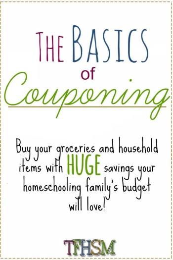 How to be a Homeschool Coupon Mom