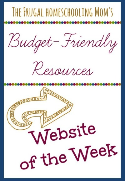 Frugal Free Homeschool Family Website of the Week budget friendly resources