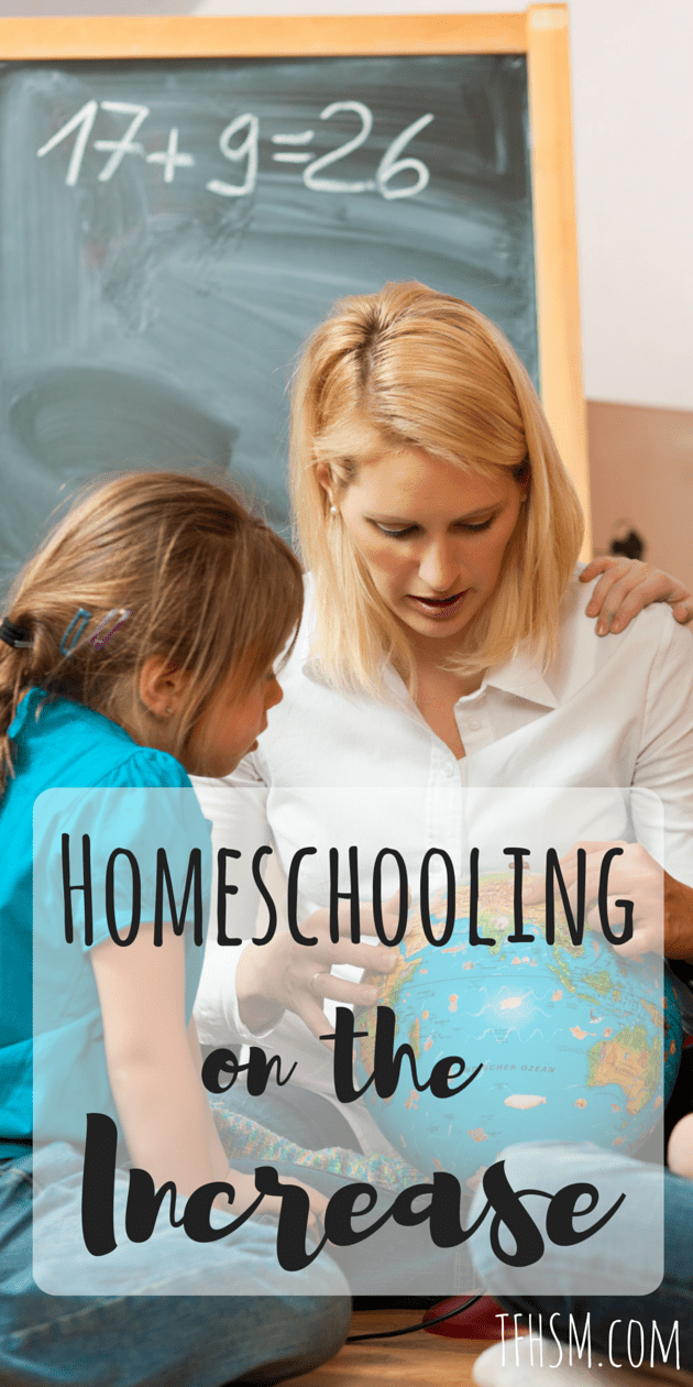Homeschooling Stats on the increase tfhsm frugal homeschooling mom blog