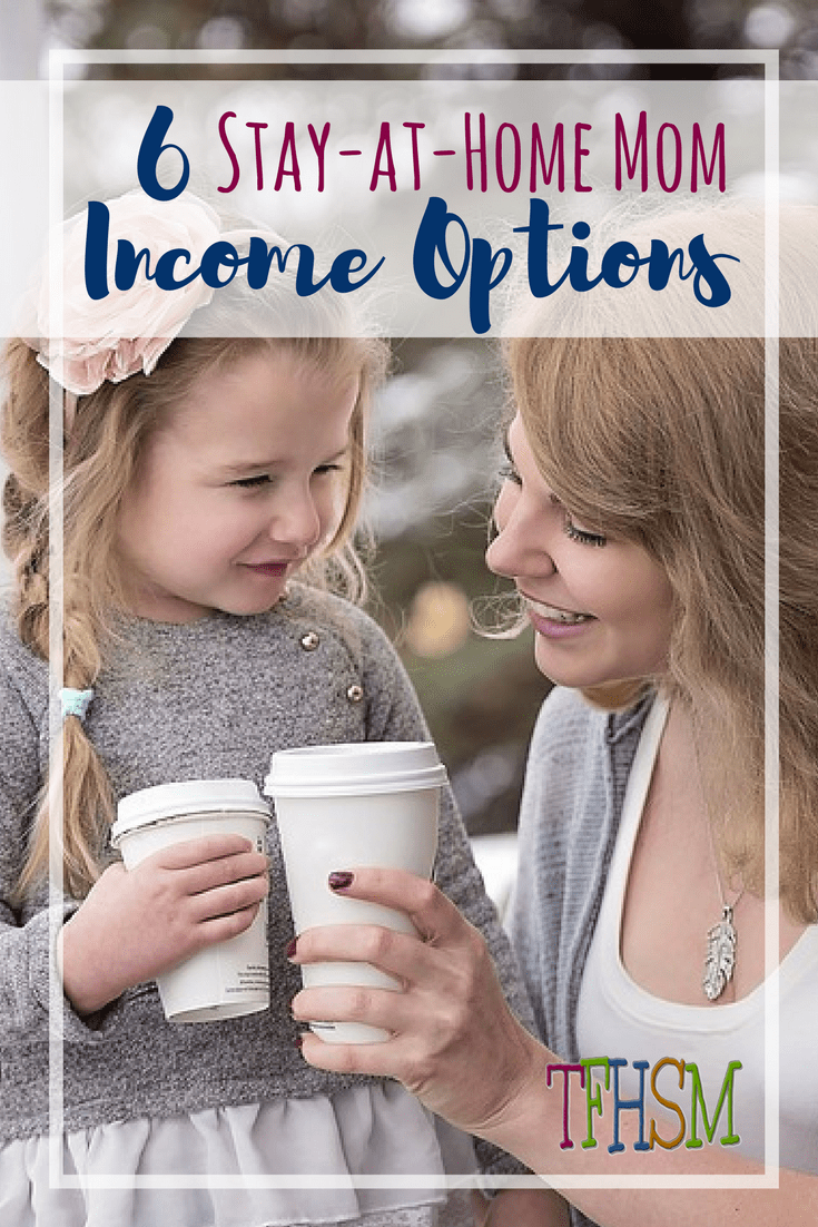 How can stay at home moms and homeschooling moms earn an income from home p