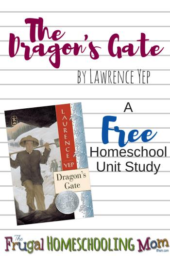 Dragon's gate Free Homeschool Unit Study printables videos educational activities