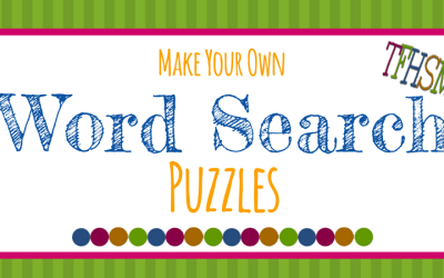 """FREE """"Make-Your-Own"""" Printable Wordsearch Puzzles"""