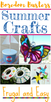 summer crafts free frugal and easy homeschool activities and boredom busters