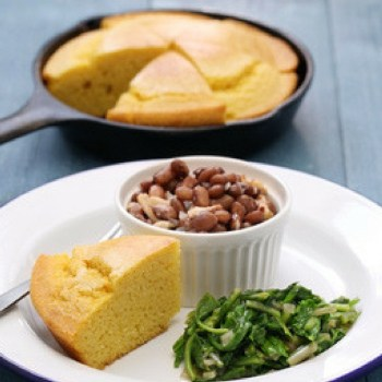 Meatless Monday Pinto Beans and Chunky Cornbread Recipe - The Frugal Homeschooling Mom s