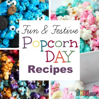 Fun Popcorn Recipes for National Popcorn Day s