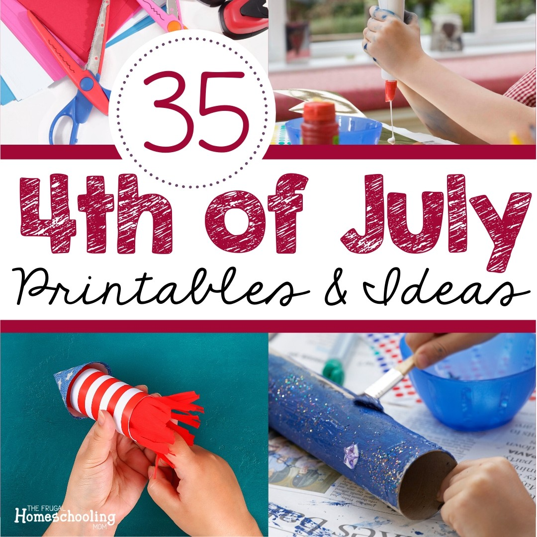 Fourth Of July Free Printables And Activities Including