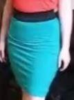 איך לתפור חצאית צרה קצרה