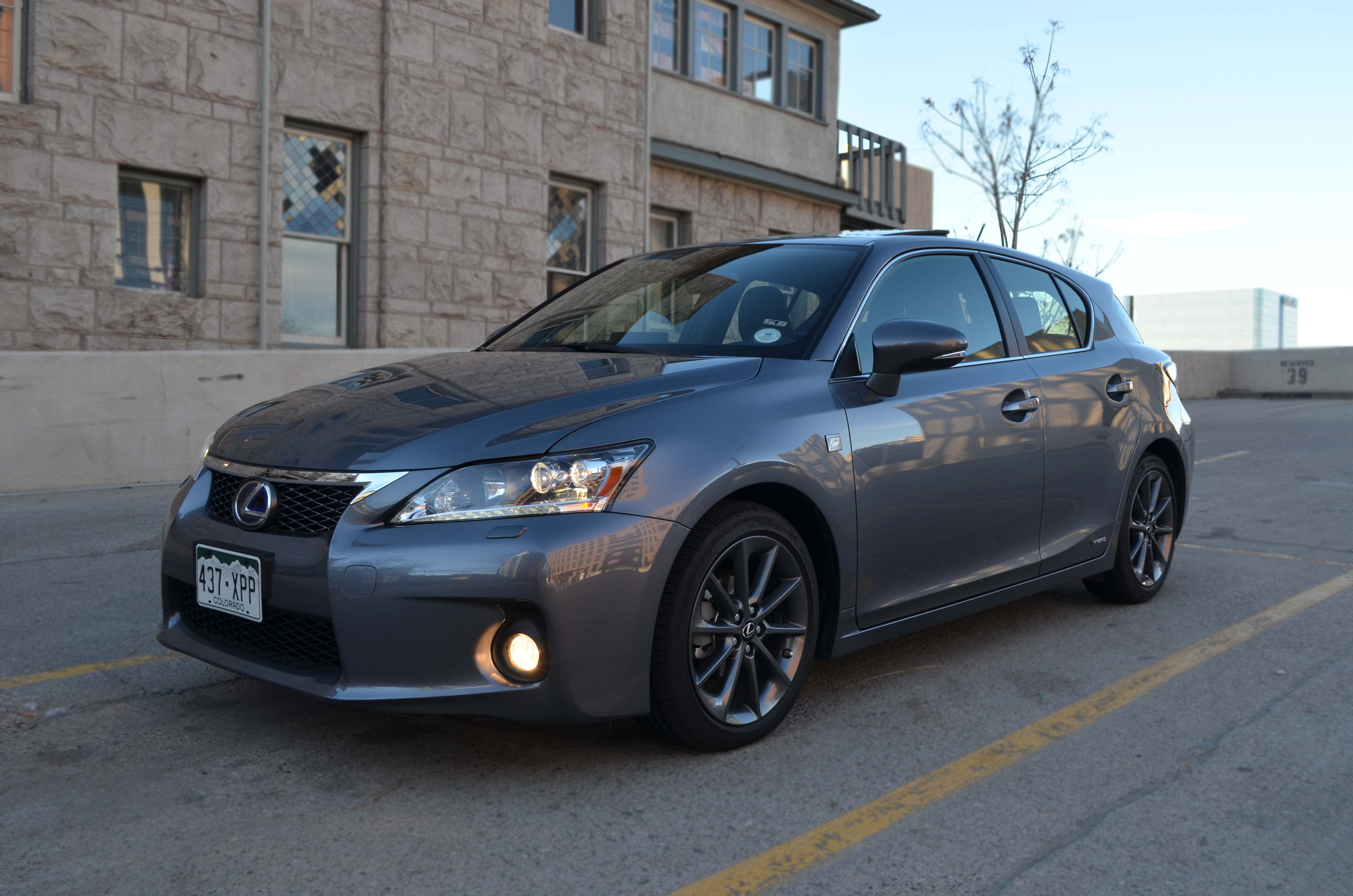 The 2012 Lexus CT 200h is 3 206 Pounds of Hybrid iness