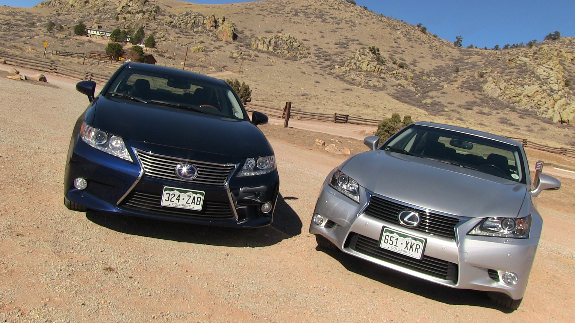 2013 Lexus ES vs GS 0 60 MPH Mashup Review What s the best new