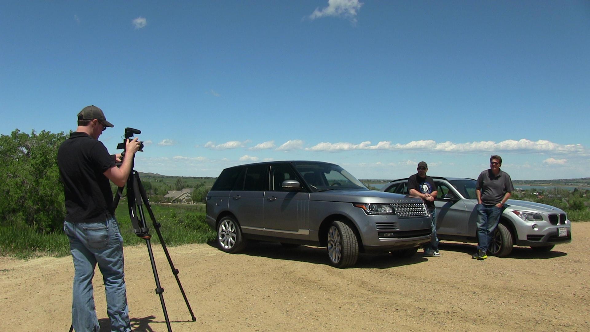 2013 Range Rover vs BMW X1 Mile High 0 60 MPH Mashup The Fast