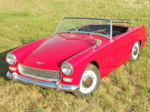 Rare Find  1963 Austin Healey MKII Sprite Found on Craigslist   The     00v0v 51OPAYl48e9 600x450
