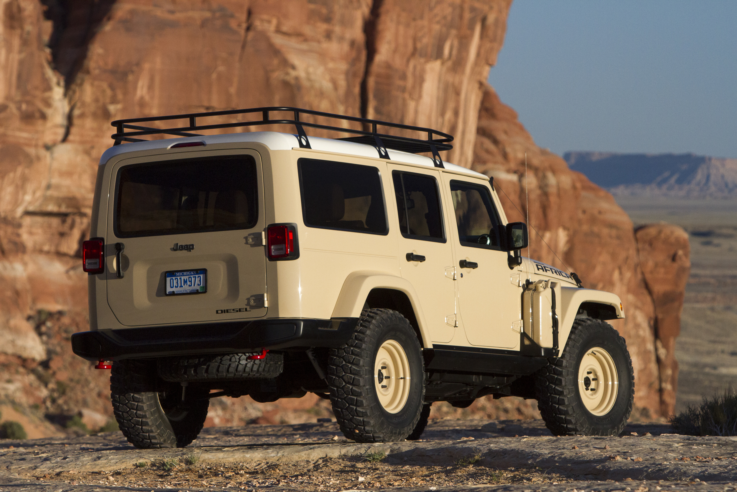 Jeep Africa Concept What it s like to Drive [First Impression