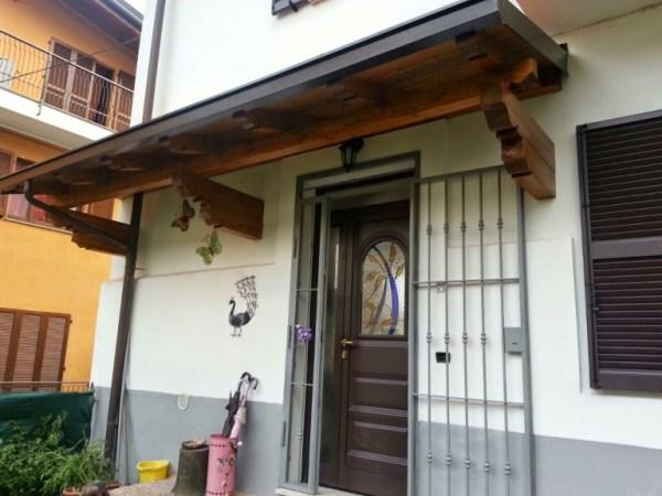 copri porta in legno lamellare