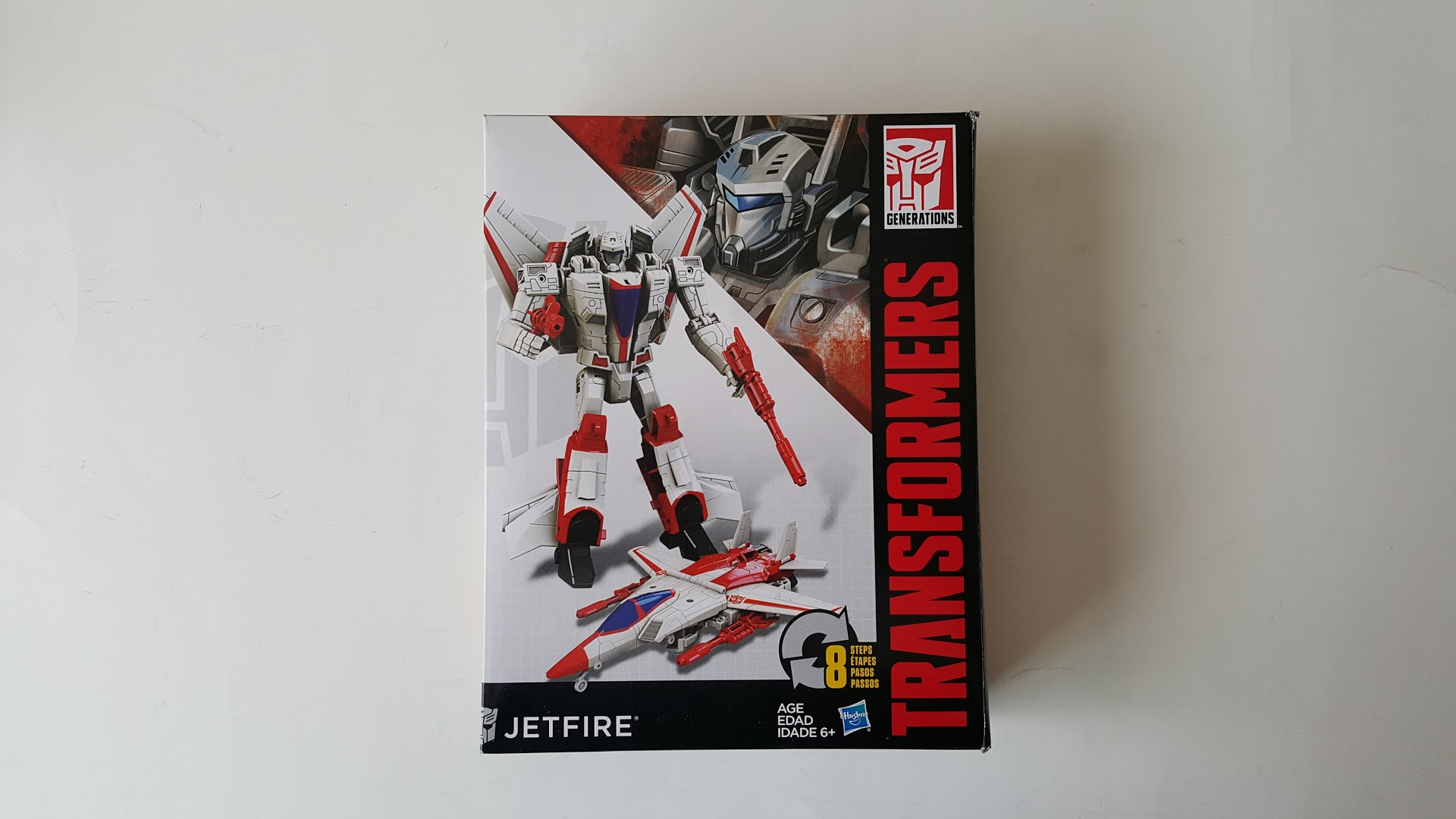 Hasbro Transformers Jetfire Cyber Battalion Walgreens Model Figures Toys Gift