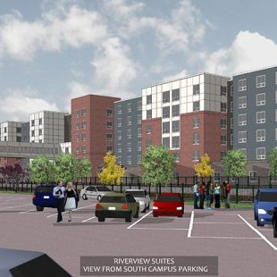 UMASS Lowell Riverview Suites Dormitory