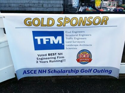 TFMoran Sponsors NH-ASCE Scholarship Golf Tournament
