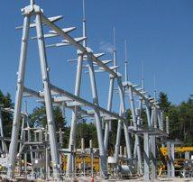 PSNH   Farmwood Transmission Switchyard