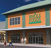 Construction Begins on the Whole Foods Market at the Goffe Mill Plaza