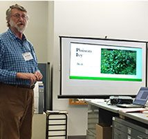 TFMoran Hosts Presentations on Poisonous Plants