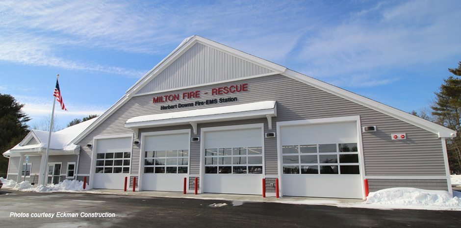 Milton Fire - Rescue Station, Milton, NH