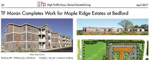 High Profile April 2017 Focus: Senior/Assisted Living