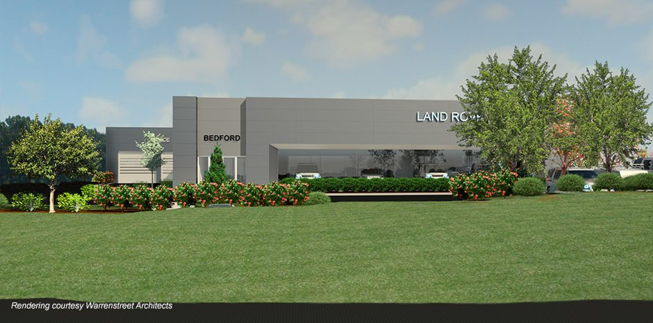 Land Rover Dealership Expansion - Bedford, NH