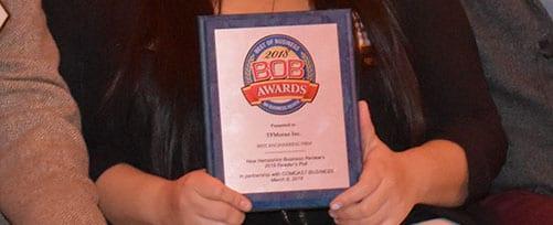TFMoran Receives 6th BOB Award
