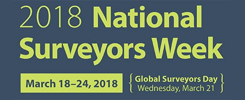 2018 National Surveyors Week