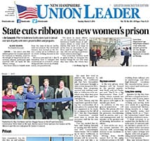 TFMoran Civil Engineering Project – New State of NH Women's Prison – Ribbon-Cutting Event covered by NH Union Leader