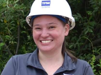 Celebrating Women In Construction Week! Meet Brenda Kolbow, TFMoran Survey Project Manager.