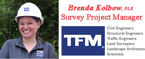 Brenda Kolbow, TFMoran Survey Project Manager