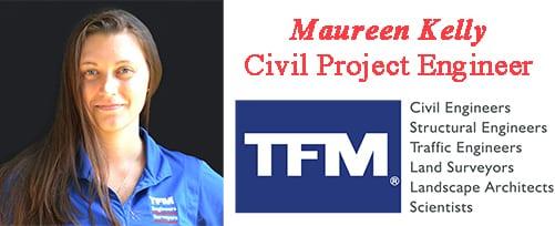 Maureen Kelly - TFMoran Civil Project Engineer