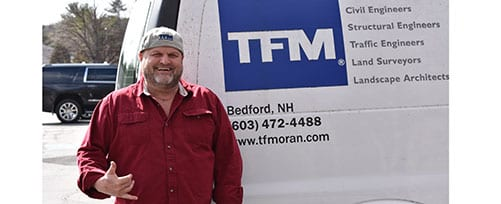 TFM Land Surveyor Steve Bibeau