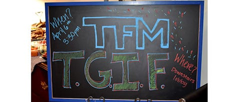 TFMoran TGIF Office Party