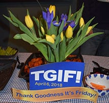 """TFMoran Celebrates """"Friday"""" with a TGIF Staff Party"""