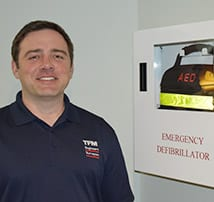 TFMoran Installs Automated External Defibrillator (AED)