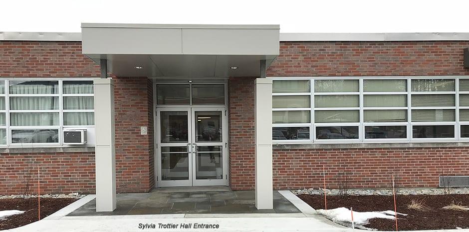 Structural Design for Rivier University Sylvia Trottier Hall