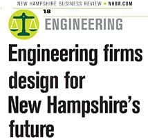 NH Business Review focuses on Engineering Firms designing for NH's Future