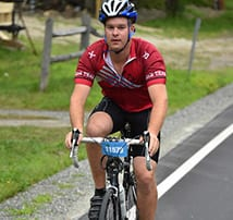 Scott Olsen Participates in the 37th Annual Prouty Bike Race