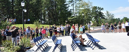 SNHU Ribbon Cutting for Kingston Hall