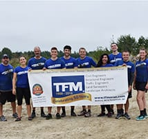 First Thunder Run 5k Obstacle Race for Team TFMud Slides… A Big Success!