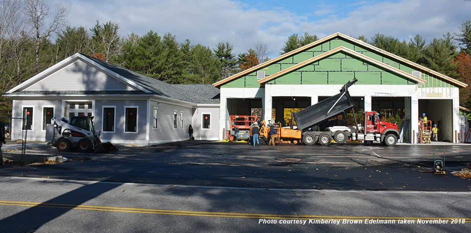 Warner, NH Fire & Rescue Station