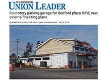 New Project Featured in the New Hampshire Union Leader