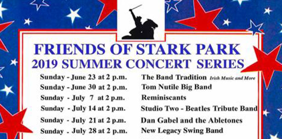 Friends of Stark Park 2019 Summer Concert Series