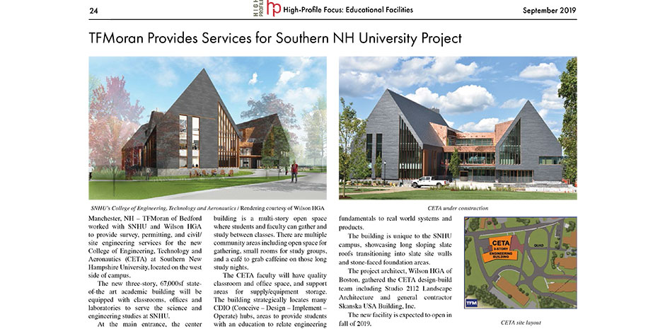 High-Profile Education Focus - SNHU CETA Project