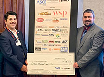 TFMoran's Nick Golon helps ASCE-NH raise $15,000 for NH Student Scholarships